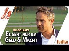 """""""Es geht nur um Geld und Macht"""" - Daniele Ganser im NuoViso Talk - YouTube Interview, Channel, Money Bank, Meditation, Youtube, Banks, Truth Hurts, Politics, Education"""