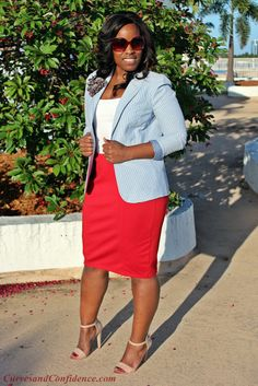 Curves and Confidence | Inspiring Curvy Fashionistas One Outfit At A Time: May 2013