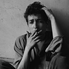 A young Bob Dylan....something about this picture reminds me of my little brother. What do you think, @Dawn Roberson?