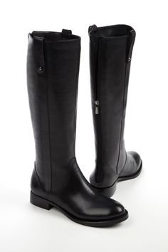 Womens Knee High Leather Boots Vintage Riding Boots Autumn Winter Round Toe Thick Low Heels Martin Boots Ladies Ankle Boots Shoes Plus Flat Leather Boots, Leather Riding Boots, Womens Black Riding Boots, Black Leather, Knee Boots, Bootie Boots, Martin Boots, Cross Training, Fashion Boots