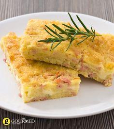Τεμπελόπιτα με γιαούρτι φέτα και κασέρι - gourmed.gr