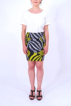 This skirt is a design of Dutch fashion designer Irene Heldens! It's only made in limited editions and of every print there are only 3 made. Great statement piece to bring color and print to your closet. The skirt has small pockets in the front. You can wear it with all your plain blouses and tops and create a flawless look.    Sara Skirt by Irene Heldens. Clothing - Skirts Amsterdam, Netherlands