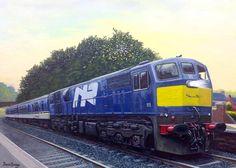 Guild of Railway Artists Artist Art, Locomotive, Thunder, Irish, Art Gallery, David, Posters, Train, World
