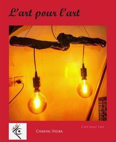 """Chantal Vieira on Instagram: """"Luminaire en bois flotté"""" Light Bulb, Lighting, Instagram, Home Decor, Drift Wood, Light Fixture, Decoration Home, Room Decor, Light Globes"""