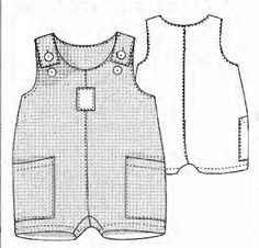 68 Ideas For Sewing Clothes Romper Free Pattern Baby Dress Patterns, Baby Clothes Patterns, Kids Patterns, Sewing Patterns Free, Free Pattern, Baby Sewing Projects, Sewing For Kids, Toddler Outfits, Boy Outfits