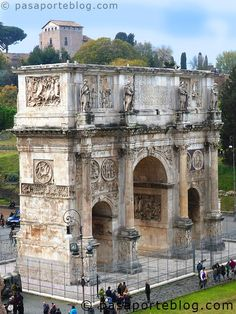 312 a.d arch of constantine Ancient Ruins, Ancient Rome, Ancient History, Roman Architecture, Ancient Architecture, Rome Travel, Italy Travel, 3 Days In Rome, Arch Of Constantine