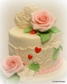 The top of my wedding cake