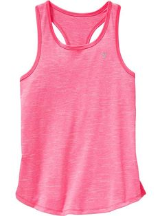 Girls Old Navy Active Space-Dye Tanks