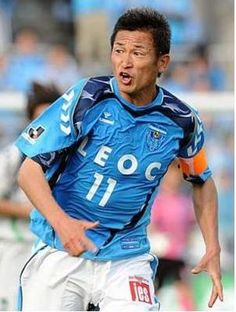Japanese greatest soccer player ever.