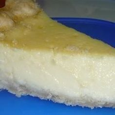 Excellent Egg Custard Pie recipe that I've worked at forever to duplicate a popular restaurant's pie! I finally got it!