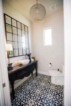 Powder Room Design, Clawfoot Bathtub, Black And White, Bathroom, Classic, Washroom, Derby, Dressing Table Design, Black N White