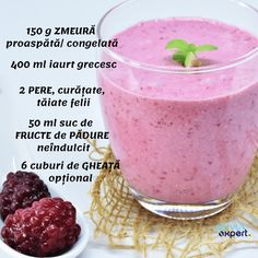 Sănătate la pahar cu SEMINȚE și NUCI - Servus Expert Healthy Green Smoothies, Different Recipes, Milkshake, Smoothie Recipes, Deserts, Dessert Recipes, Food And Drink, Healthy Recipes, Healthy Food