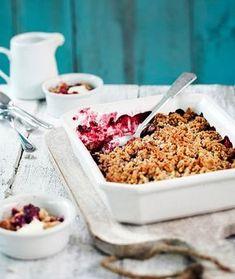Herkullinen ruis-marjapaistos valmistuu uunissa kuin itsestään. | K-Ruoka