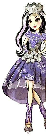 Ever After High Fairest on Ice Duchess Swan Artwork