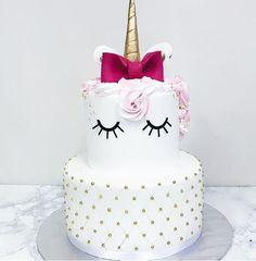 (: unicorn cake