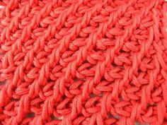 Tunisian Crochet - Mother Hulda Ajourmuster rightly History - Veronika Hug (IN GERMAN - If you are familiar with Tunisian Crochet you can watch this video to learn this stitch... The video is very good... Deb)