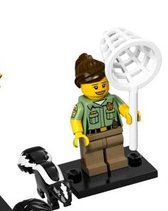 OPENED LEGO 71011 Animal Control Officer Collectible Minifigure Series 15 NEW