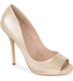 KG KURT GEIGER - Dreamie peep toe court shoes | Selfridges.com