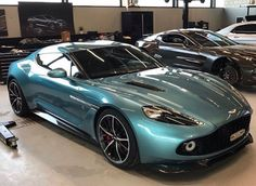Aston Martin is known around the world as one of the premier luxury car makers. The Aston Martin Vulcan is a track-only supercar Aston Martin Db11, Aston Martin Vanquish, New Sports Cars, Car Goals, Hot Cars, Luxury Cars, Dream Cars, Super Cars, Classic Cars