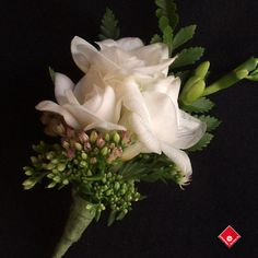 corsages for weddings   wedding corsage of white freesias for a Montreal Wedding - The ...