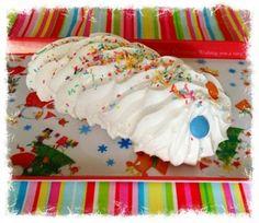 How to make a caterpillar meringue http://www.partysuppliesnow.com.au