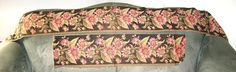 2 Pieces Antique Cotton Floral Print Fabric by VintageClothesNJunk