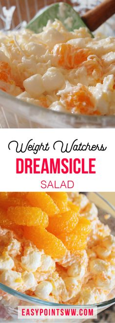 Dreamsicle Salad ♥