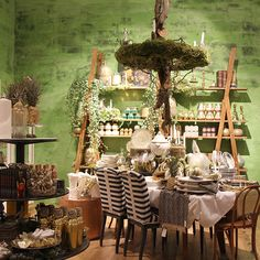 Store Tour: Welcome, Anthropologie Brent Cross - 'Why so excited?' you ask. We were promised corners bristling with Christmas table setting inspiration, festive party ranges and cosy home assortments like no other. Ladies and gentleman, we were not disappointed.  Until you can visit …?cm_sp=BLOG-_-anthropologie-new-br-_--