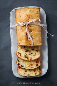 This super easy to make cream cheese fruit cake loaf is the opposite of the old-fashioned dense and heavy fruit cake. This cake has a light and fluffy texture and studded with dried fruits and infused with a great aroma from cream cheese and butter.
