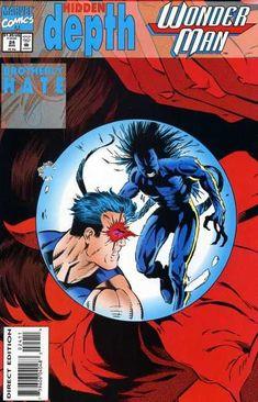 Wonder Man Vol. 2 # 24 by Jeff Johnson & Terry Austin Death Of Superman, Wonder Man, Human Torch, Image Comics, Comic Book Covers, Thor, Over The Years, Comic Art, Marvel Comics