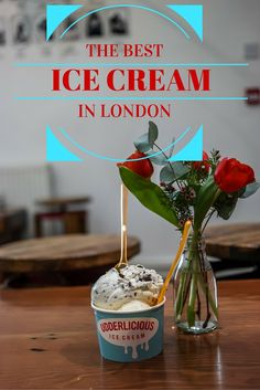 We embarked on a tour of London, in search of the best ice cream in London. When the weather is warm, we only want the best!