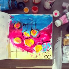 dailyscapes :: two months of daily sketchbook paintings {tara leaver}