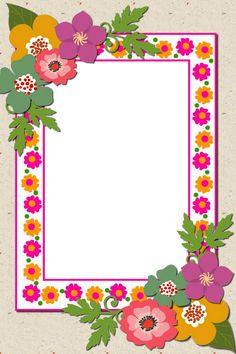 Frame Border Design, Boarder Designs, Page Borders Design, Cute Boarders, Boarders And Frames, Tree Decal Nursery, Flower Background Design, Halloween Borders, Frame Layout