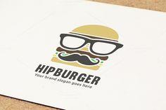 Hip Hamburger Logo by WheelieMonkey on Creative Market