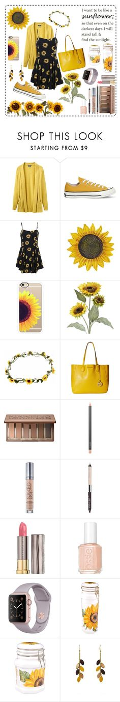 """//Stand tall and find the Sunlight\\ -Red--Sun-"" by kai-noel ❤ liked on Polyvore featuring Joules, Converse, Casetify, Pier 1 Imports, MICHAEL Michael Kors, Urban Decay, MAC Cosmetics, Essie, Spigarelli Ceramiche and Atelier Maï Martin"
