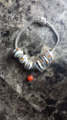 Hey, I found this really awesome Etsy listing at https://www.etsy.com/listing/241705164/orange-and-white-sterling-silver
