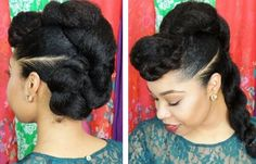 Protective Twist N Bun Style Hairstyle Tutorial  Read the article here - http://www.blackhairinformation.com/general-articles/hairstyles-general-articles/protective-twist-n-bun-style-hairstyle-tutorial/