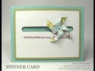 Stampin Up! Pinwheel Spinner Card