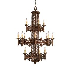 View the Eurofase Lighting 17491 Sixteen Light Up Lighting Three Tier Chandelier from the Modesa Collection at LightingDirect.com. stair lighting