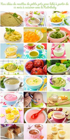 Recettes de petits pots pour bébé de 12 mois à cuisiner avec le Nutribaby de Babymoov Baby Cooking, Childrens Meals, Practical Gifts, Unusual Gifts, Baby Hacks, Healthy Nutrition, Baby Food Recipes, Food Baby, Kids And Parenting