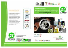 STRIZING 2015  UPDATE S.T.RIZING COMPANY  VCI FILM พลาสติกกันสนิม สารป้องกันสนิมทุกรูปแบบ Work On Yourself, Technology, Business, Tech, Tecnologia, Store, Business Illustration