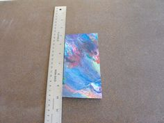 One Small Piece Cut From Abstract Expressionism Watercolor - C2 #Expressionism