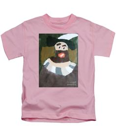 Patrick Francis Kids T-Shirt featuring the painting Rembrandt 2014 - After Rembrandt Self-portrait by Patrick Francis