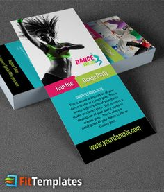 Rack Card For Fred Astaire Dance Studios Willoughby Need A Logo