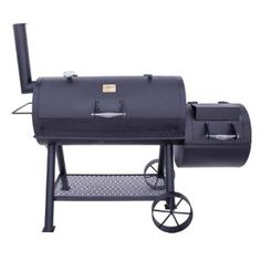 Amazon.com: Char-Broil Oklahoma Joe Longhorn Offset Smoker and Grill 12201747: Patio, Lawn & Garden