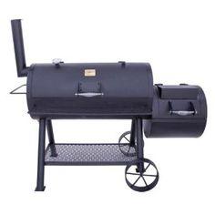 Amazon.com: Char-Broil Oklahoma Joe Longhorn Offset Smoker and Grill 12201747: Patio, Lawn & Garden