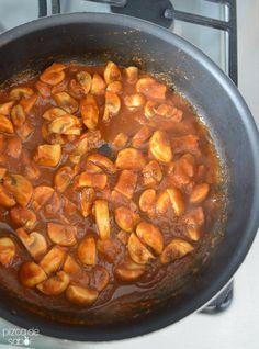 Asado de champiñones (la versión vegetariana y saludable del asado) www.pizcadesabor.com