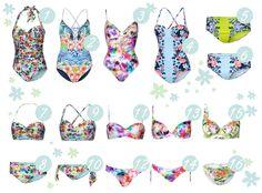 My love: Bademode mit Blumenprints #blogger #bikini #flowers