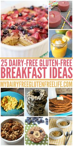 25 Dairy Free Gluten Free Breakfast Ideas from My Dairy Free Gluten Free Life. 25 Dairy Free Gluten Free Breakfast Ideas from My Dairy Free Gluten Free Life. Gf Recipes, Dairy Free Recipes, Healthy Recipes, Healthy Moms, Lasagne Recipes, Pasta Recipes, Italian Recipes, Sans Lactose, Lactose Free