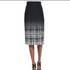 NWT. Raoul 'Fading Plaid' Pencil Skirt. Size 6. NEW w/ Tag. Raoul Fading Plaid Pencil Skirt. Size 6. Sits Slightly High on the Waist. Back Zip. Below The Knee. A Must Have for Every Women's Wardrobe. Staple Pencil Skirt to Be Paired With Any Top for a Pulled Together, Polished Look. Raoul Skirts Pencil